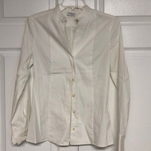 AKRIS punto button down blouse